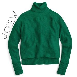 NWT J. Crew emerald green sweater 2X plus size